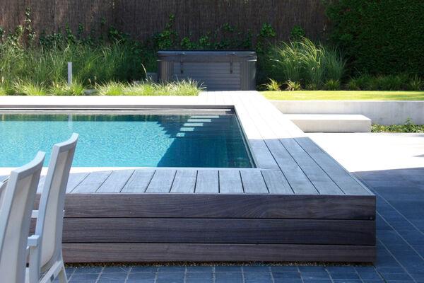 Wellnessweelde in private tuin